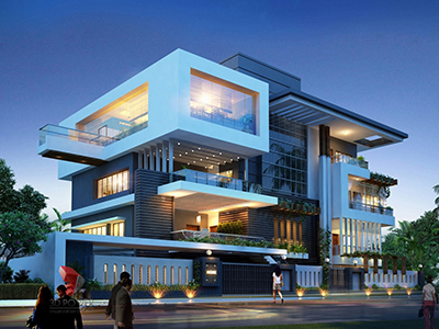 3D-Architectural-Rendering-Company-3D--bungalow-night-view