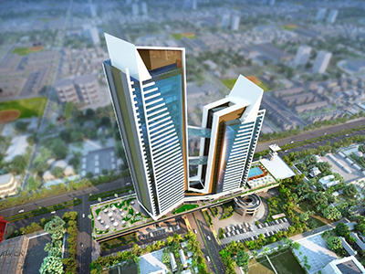 high-apartments-3D-Architectural-India-best-animation-company-perfect-Designers-architectural-visualization